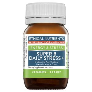 Ethical Nutrients Super B Daily Stress Plus 30 Tablets