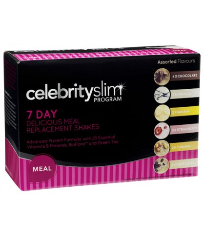 Celebrity Slim Meal Replacement Variety Pack (7 Day)