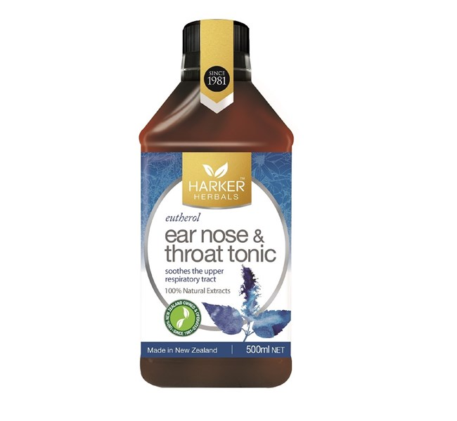 Harker Herbals Ear Nose & Throat Tonic 500ml
