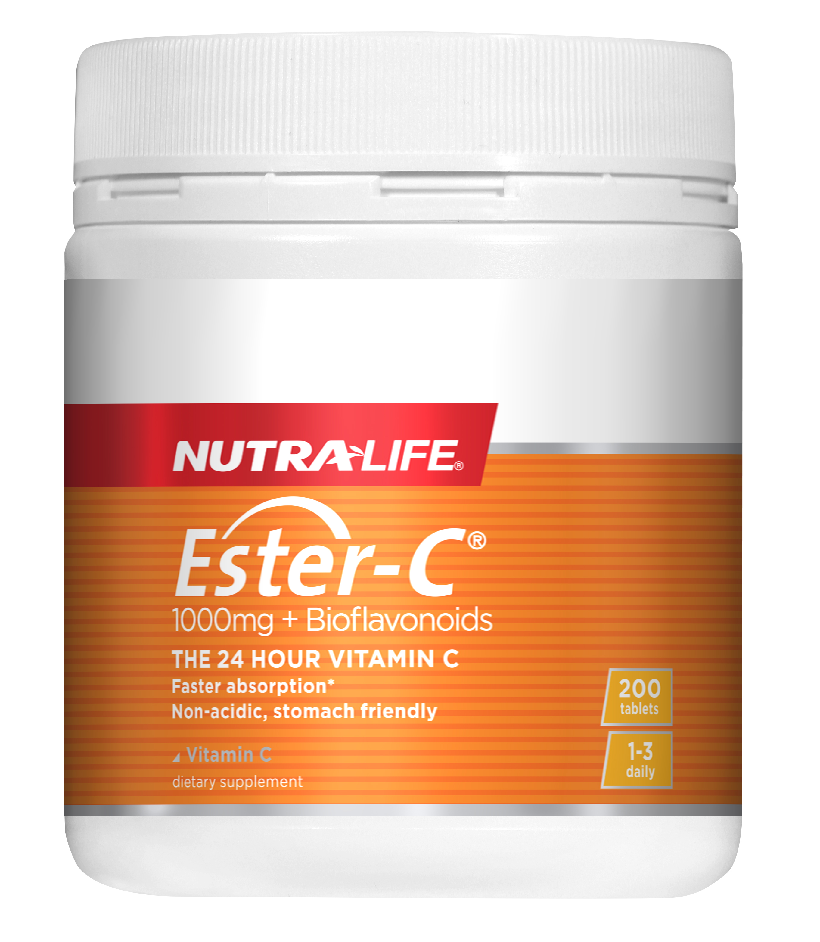 Nutra-life Ester C + Bioflavonoids 1000mg 200 Tablets