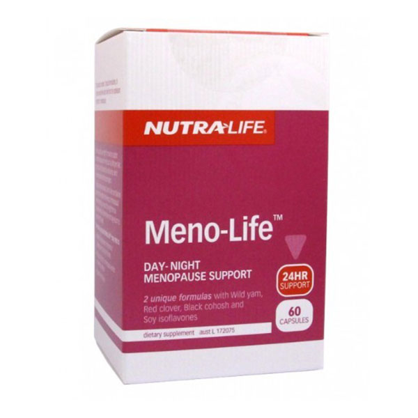 Nutra-Life Meno-Life 24 hour Menopause Support 60 Capsules