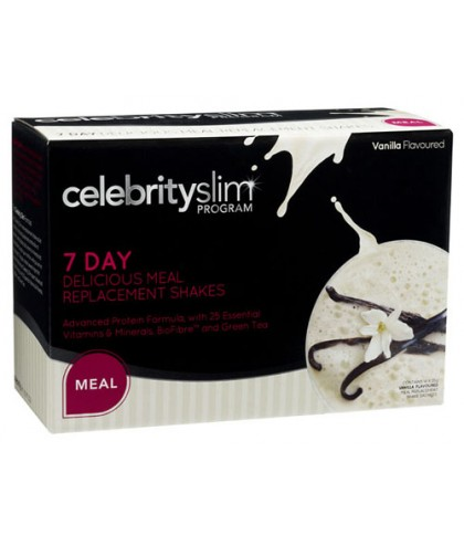Celebrity Slim Meal Replacement Vanilla (7 Day)