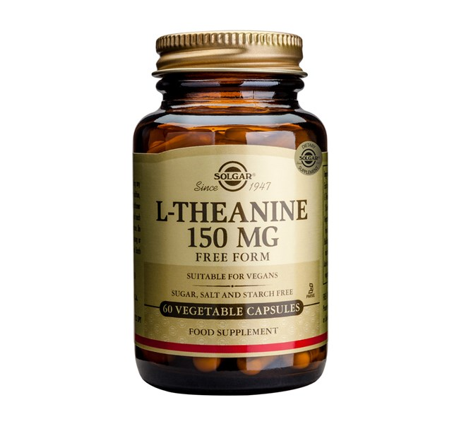 Solgar L Theanine 150mg 60 Vegicaps