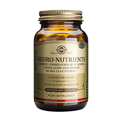 Solgar Neuro Nutrients 60 caps