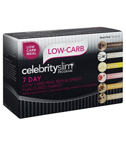 Celebrity Slim Low-Carb 7 Day Assorted Pack