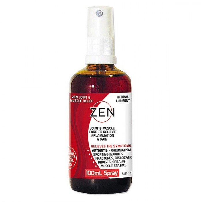 Zen Pain Relief Herbal Liniment Spray 100ml