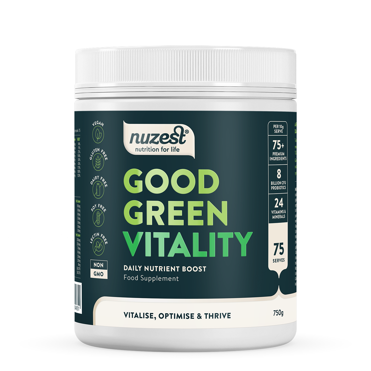 NuZest Good Green Stuff 750g