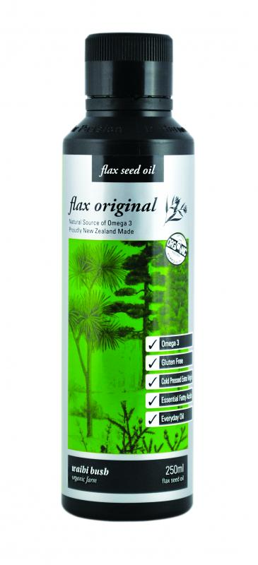 Waihi Bush Flaxseed Oil 250ml