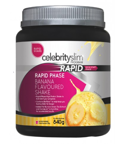 Celebrity Slim Rapid - Banana 840g