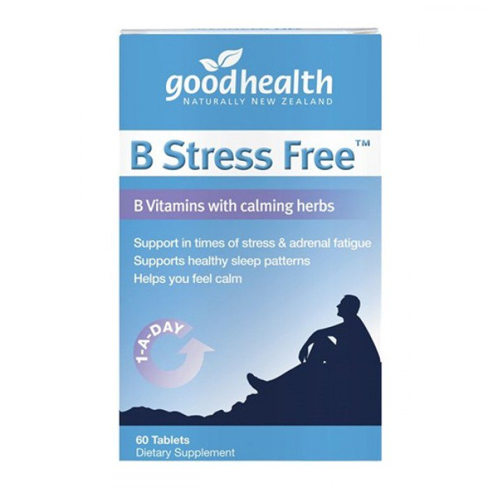 Good Health Vitamin B Stress Free 60 Tablets