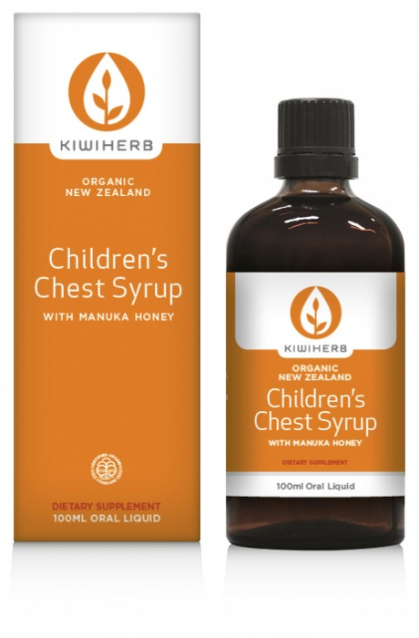 Kiwiherb Childrens Chest Syrup 200ml