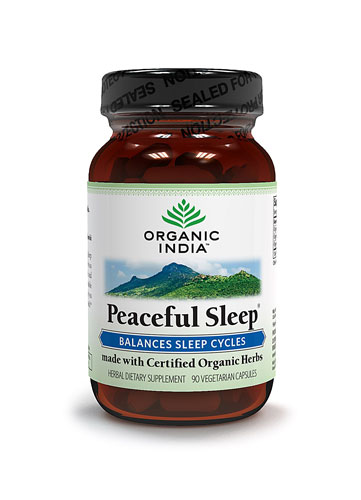 Organic India Peace Full Sleep 90 Capsules