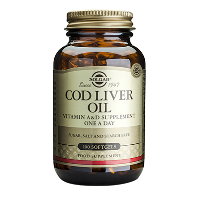 Solgar Cod Liver Oil Norwegian 100 Softgels