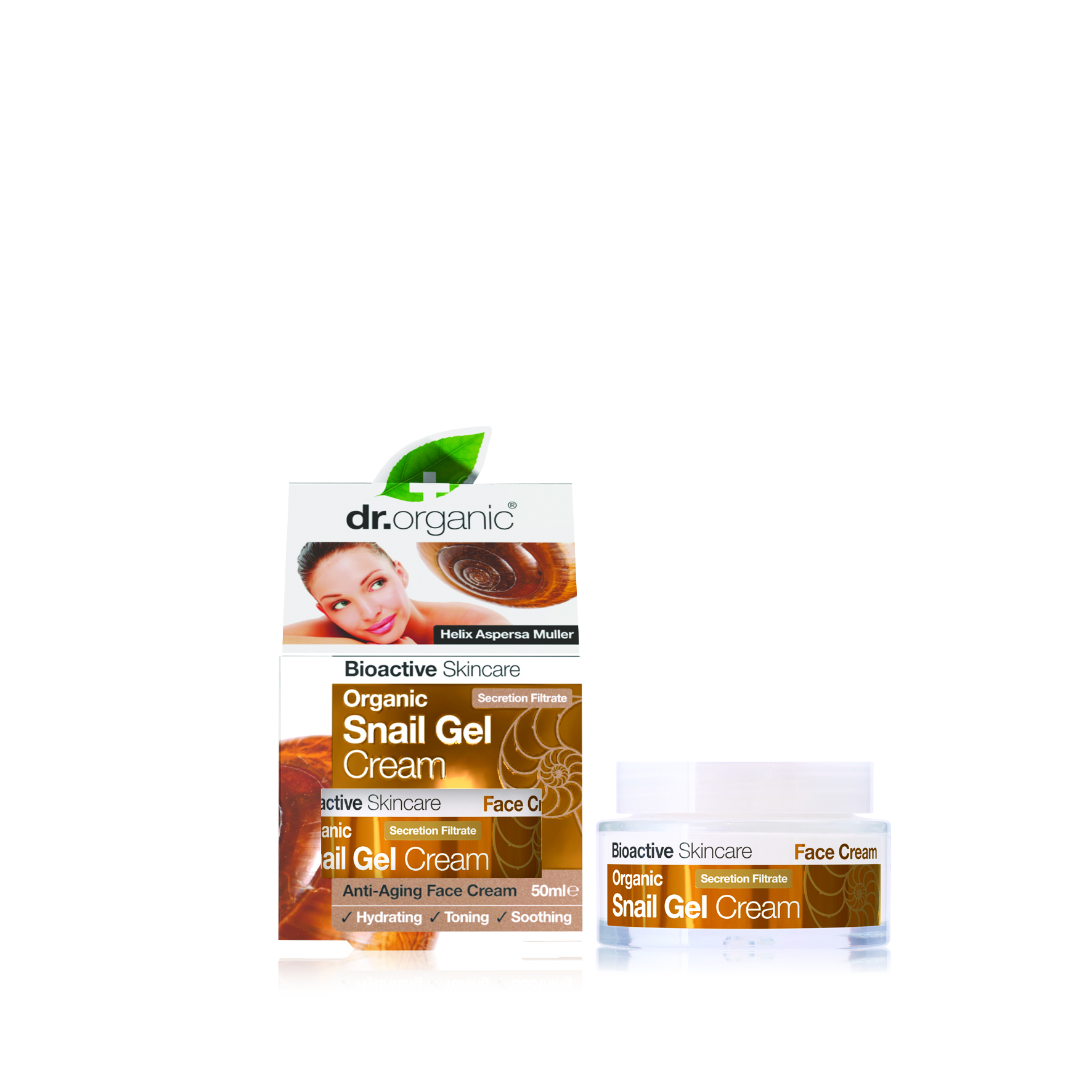 Dr Organic Snail Gel Cream 50ml