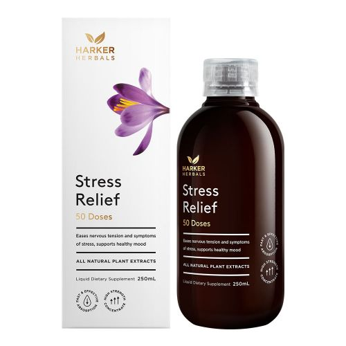 Harker Herbals Stress Relief 250ml WITH FREE SLEEP WELL 100ml