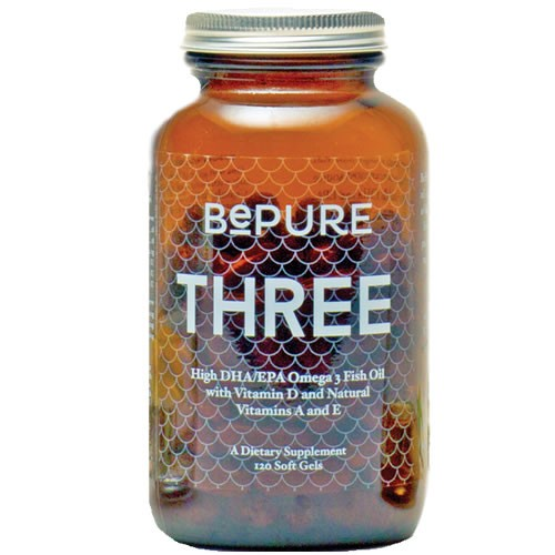 BePure Three 120 Soft Gels