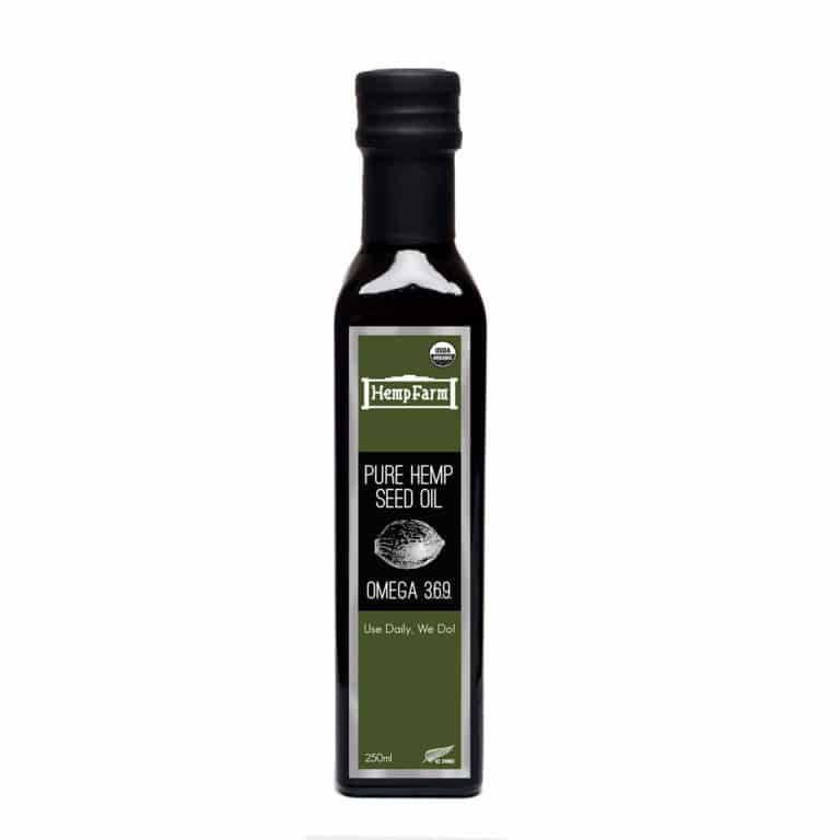 Hemp Farm Hempseed Oil NZ 250ml