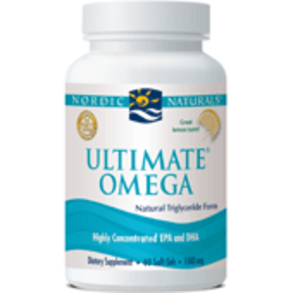 Nordic Naturals Ultimate Omega Lemon 60 Soft Gels
