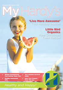Hardy's Magazine December 14 - January 15 Edition Cover